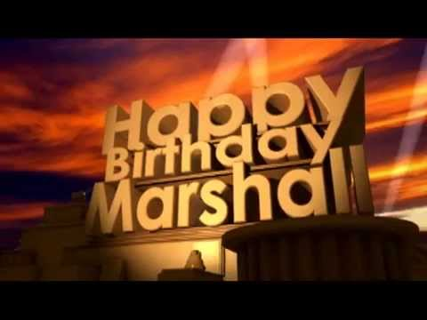 Happy Birthday Marshall Cake