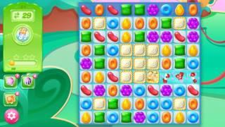 🍭🍬Candy crash jelly LV024 Прохождение, уровень 24, три в ряд, развивающая игра на андроид