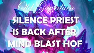 Silence Priest deck guide and gameplay (Hearthstone Rise of Shadows post Mind Blast Hall of Fame)