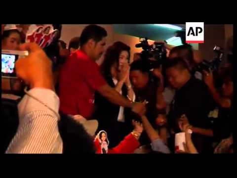 Thailand - Yingluck Shinawatra wins election