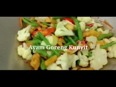 Resepi Ayam Goreng Kunyit ~ sangat mudah dan sedap!! - YouTube