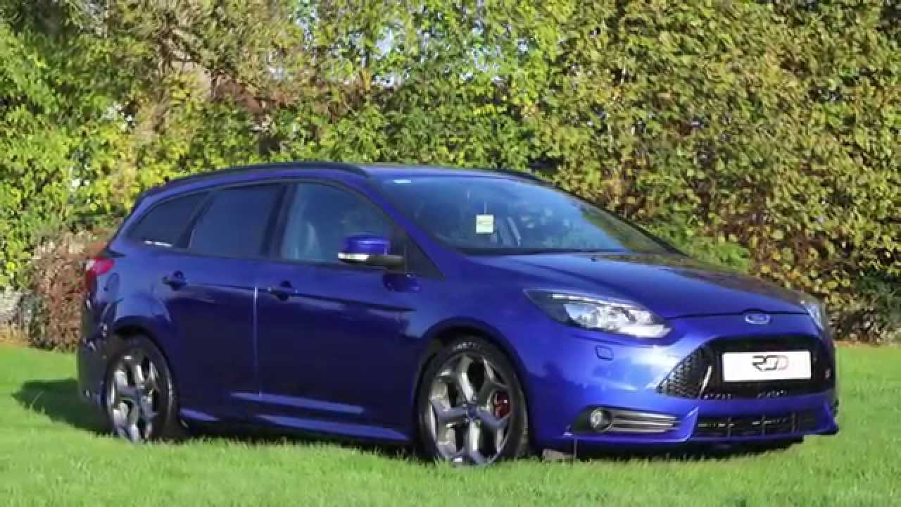 Blue Ford Focus St >> Ford Focus ST3 Estate - YouTube