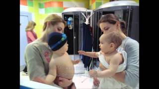 Утро в детском бассейне Акватика Kids