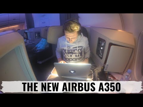 Cathay Pacific A350 Business Class Review Düsseldorf to Hong Kong