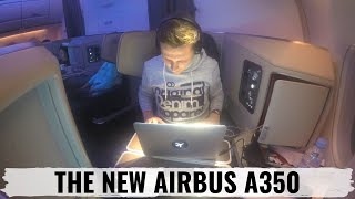 cathay pacific a350 business class review dsseldorf to hong kong