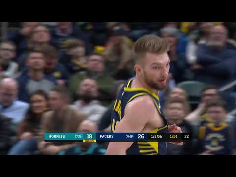 2nd Quarter, One Box Video: Indiana Pacers vs. Charlotte Hornets