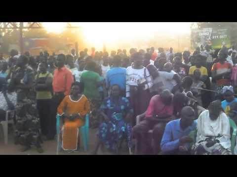 Jesus in Yei crusade, South Sudan