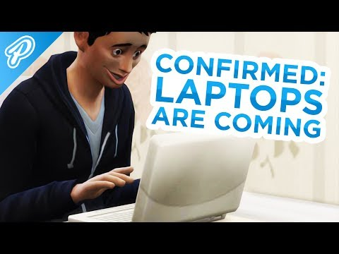 CONFIRMED: LAPTOPS ARE COMING! 💻😍 // The Sims 4: News & Info thumbnail