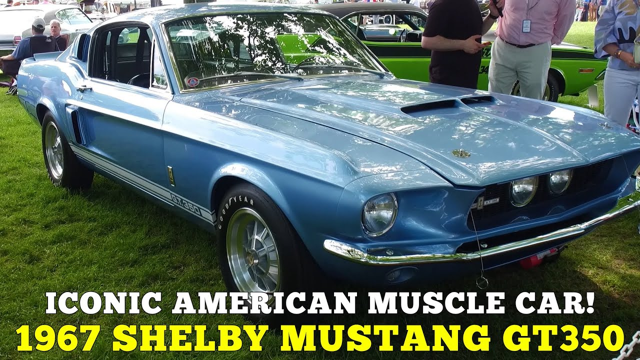 An American Icon! 1967 Shelby Mustang GT350 at the Greenwich Concours  d'Elegance!