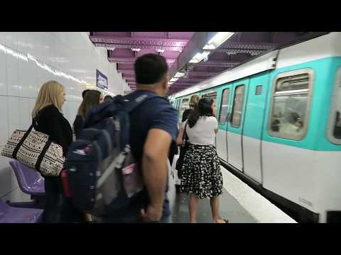 Paris Metro Extravaganza: The THIRD All 16 Liner! 31 August 2017