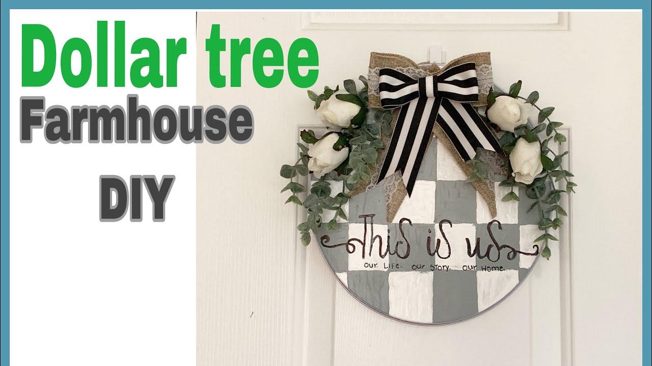 dollar tree diy farmhouse/manualidades económicas para el hogar