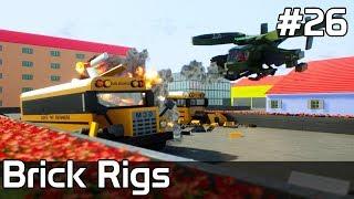 Brick Rigs PL [#26] WAKACJE - HELIKOPTERY kontra SZKOŁA /z Plaga
