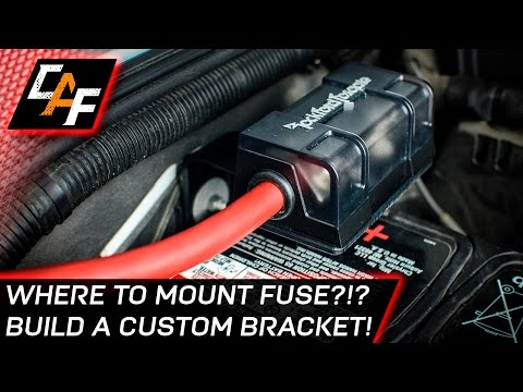 Installing an Amplifier? MOUNT THE FUSE CORRECTLY! - Jeep Build - CarAudioFabrication Mp3