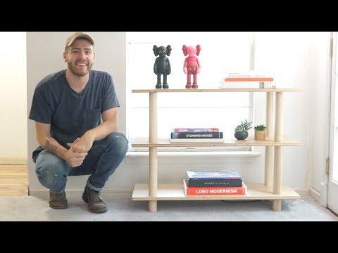 DIY Modern Bookshelf | Modern Builds | EP. 75