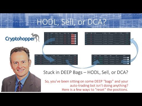 Cryptohopper - DEEP Bags - HODL, Sell, or DCA? Deep Dive Walktrough