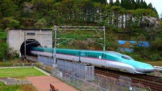 【北海道新幹線】青函トンネルを出る「はやぶさ」10号【JR海峡線】