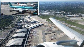 SCENIC Aer Lingus A320: GREAT springtime scenery Hamburg-Dublin [AirClips full flight series] thumbnail
