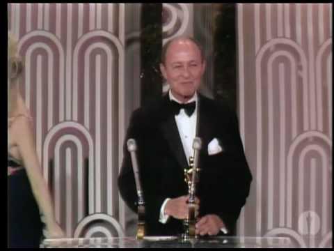"""George C. Scott winning Best Actor for """"Patton"""""""