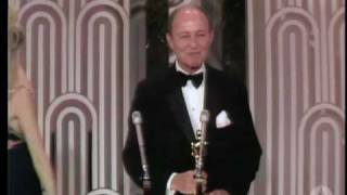 George C Scott Winning Best Actor For Patton Youtube