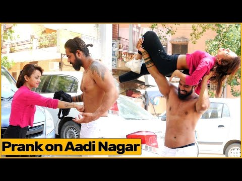 Prank With Aadi Nagar By Simran Verma   Chik Chik Boom