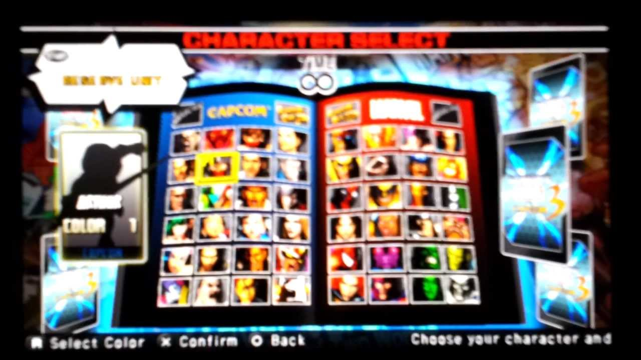 Ultimate Marvel Vs Capcom 3 Lost Characters (Xbox360/PS3/PSVITA)
