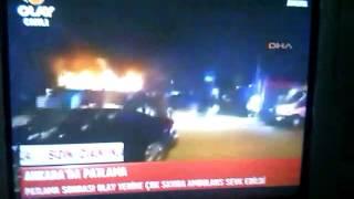 Ankara 17.02.2016 Yaşanan Bombalı Saldırı