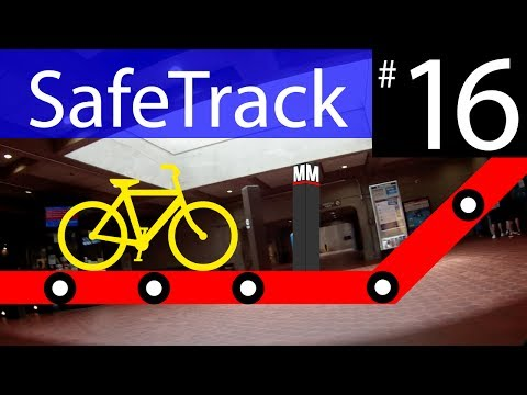 Metro SafeTrack 16 - Shady Grove To Twinbrook Bike Route