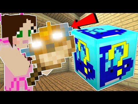 Minecraft: WHALE LUCKY BLOCK!!! (PUFFER FISH HAMMER, GIANT BOSSES, & MORE!) Mod Showcase
