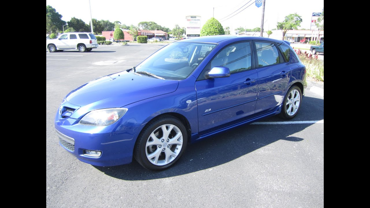 SOLD 2007 Mazda 3 S Hatchback One Owner Meticulous Motors Inc Florida For  Sale