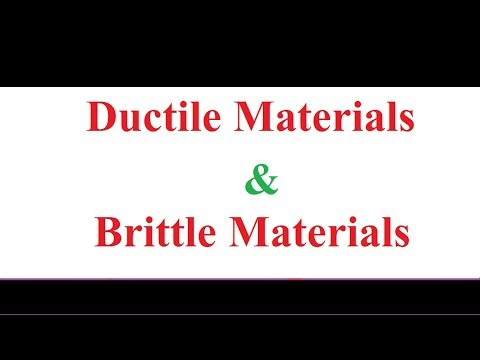Ductile Material and Brittle Material Concept