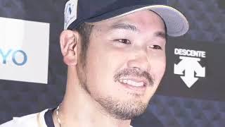 バファローズ・T-岡田選手のヒーローインタビュー動画。 2018/09/18 オ...