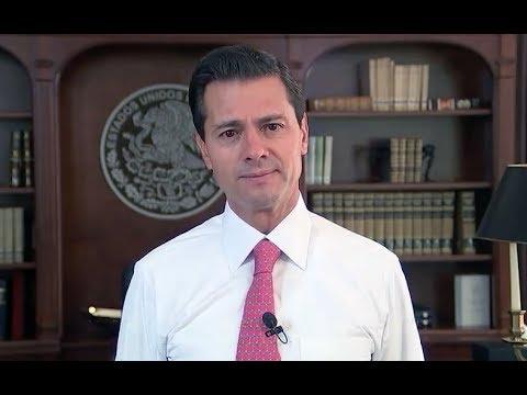 Mensaje del Presidente Enrique Peña Nieto sobre cifras económicas