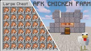 Chicken Farm | Minecraft 1.16 + | Super Fast