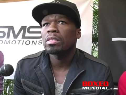 "INTERVIEW WITH CURTIS ""50 CENT"" JACKSON AND IBF FEATHERWEIGHT CHAMPION BILLY DIB"