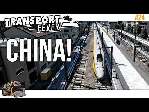 China Railroad In Motion | Transport Fever Mainline #24