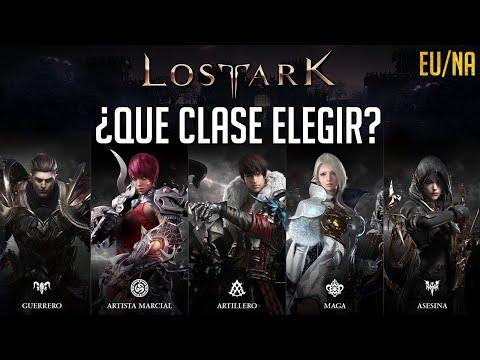 EXPLICANDO TODAS LAS CLASES EN 1 MINUTO ¿CUAL ELEGIR? ¿CUAL ES MEJOR? | LOST ARK ESPAÑOL