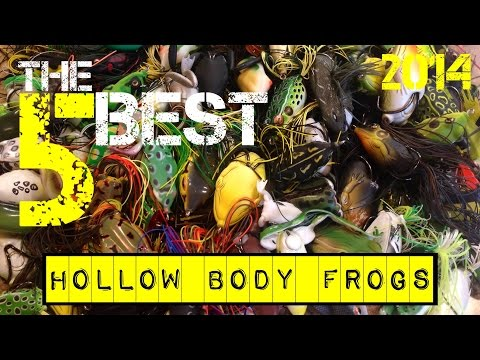 The 5 Best Hollow Body Frogs (2014)