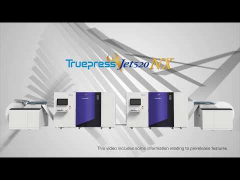 Truepress Jet520NX next generation full-color inkjet printing for superior transactional printing
