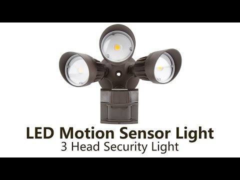 Review Amp Install Outdoor Defiant Led Motion Security Light