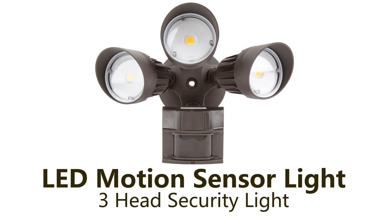 Led Motion Sensor Light Youtube