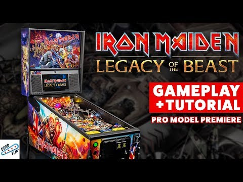 Iron Maiden : Legacy of the Beast Pinball World Premiere (PT2)