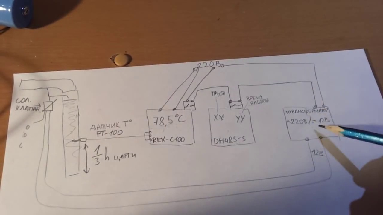 Rex C100 Dh48s S Youtube Pid Wiring Diagram