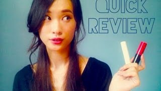 Quick Review - Innisfree colour glowlipstick, aritaum world glam coating tint (eng subtitles) Thumbnail