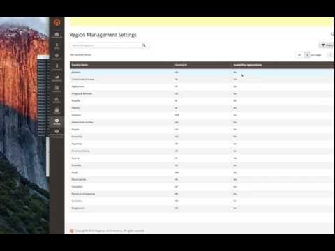Magento 2 extension: Region Manager Pro: Full management of States and Regions