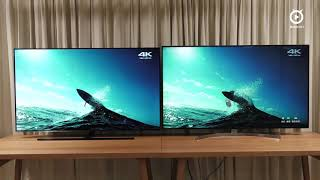 Samsung 65Q9F QLED TV vs LG 65SK8500 Super UHD TV - YouTube 4K HDR 影片(一)【Mobile01】