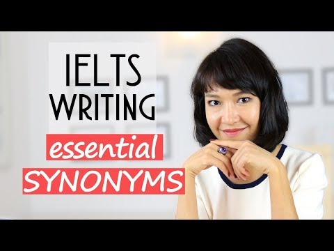 IELTS Writing VOCABULARY | SYNONYMS For Commonly Used NOUNS