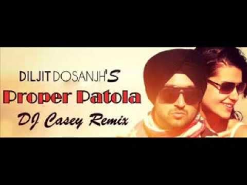PROPER PATOLA  DILJIT ft  Badshah   DJ CASEY INDIA BHANGRA REMIX