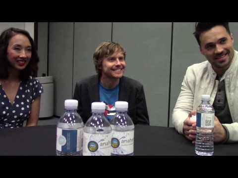 Maurissa Tancharoen, Jed Whedon, Brett Dalton Talk Marvel's 'Agents of S.H.I.E.L.D.'' at WonderCon
