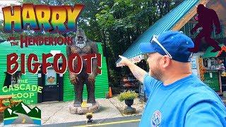 Deception Falls, Bigfoot's Home, End of Cascade Loop