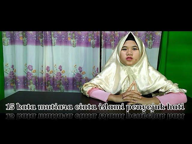15 kata mutiara cinta islami penyejuk hati